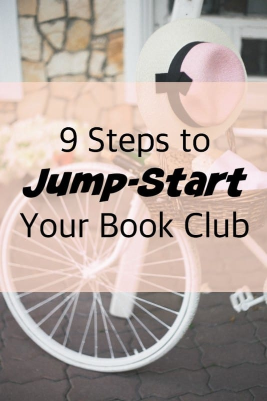 9 Steps to Jump-Start Your Book Club | pageflutter.com | Not all books clubs are created equal. Here's an easy formula to make yours the best on the block!