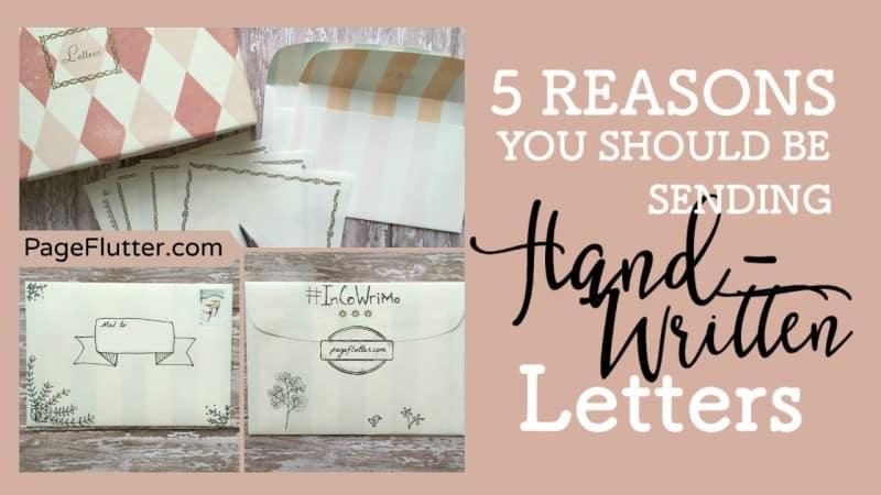 5 Reasons You Should Be Sending Hand Written letters_Twitter