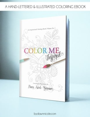 Color Me Inspired by Dawn Nicole