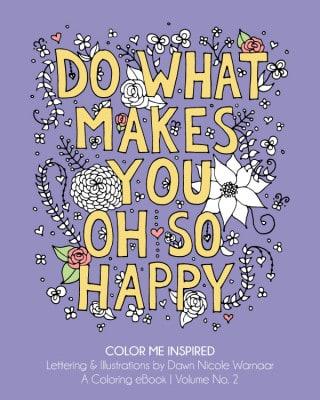 Do What Makes You Oh So Happy_DawnWarnaar