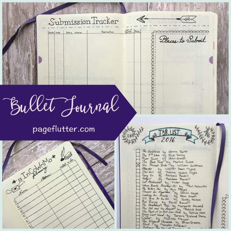 Inspiration through creative risks bullet journal