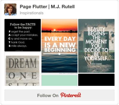 Follow M.J. Rutell on Pinterest | pageflutter.com
