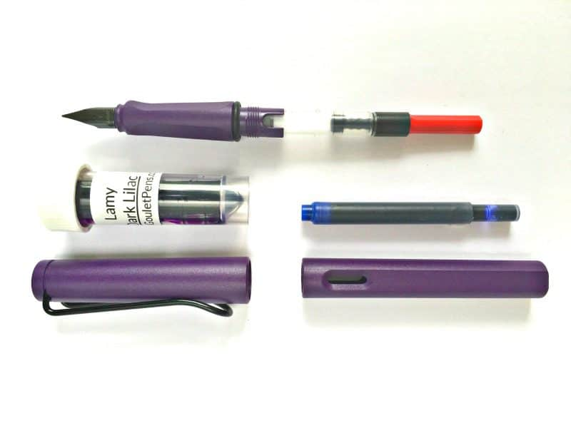 Lamy Safari Dark Lilac Unboxing and First Impressions | pageflutter.com | I love a good fountain pen and when I saw the Dark Lilac Lamy Safari on the Goulet Pens blog, I couldn't resist!