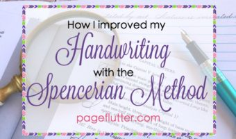 How I Improve My Handwriting: Spencerian Penmanship