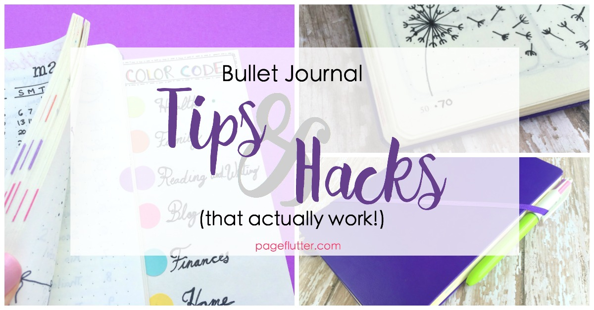 Bullet Journal Hacks That Actually Work! | Page Flutter
