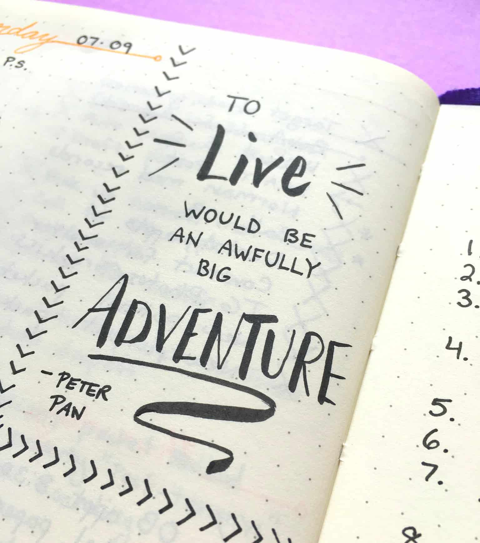 Quotes Journal New More Inspirational Quotes For Your Bullet Journal  Page Flutter