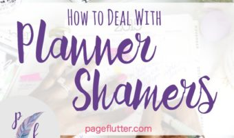 How to Deal with Planner Shamers (& Other Toxic People)