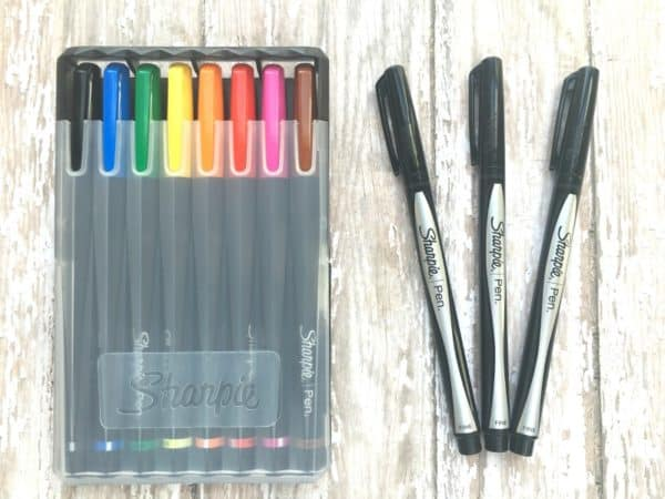 Sharpie did it again! Awesome pens/markers for bullet journaling & art journaling {affiliate link, but they're my workhorses!}