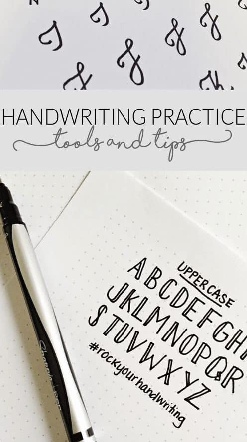 10 Handwriting Tutorials For Your Bullet Journal Page