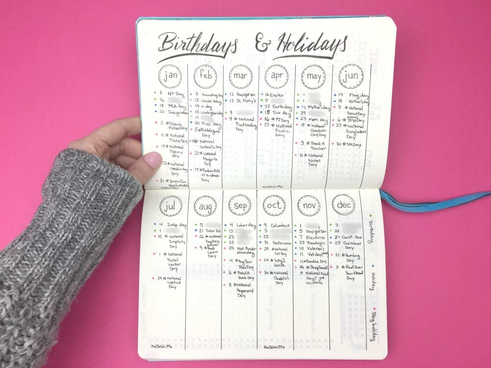 Design Calendar Journal : How to create your best year ever my bullet journal