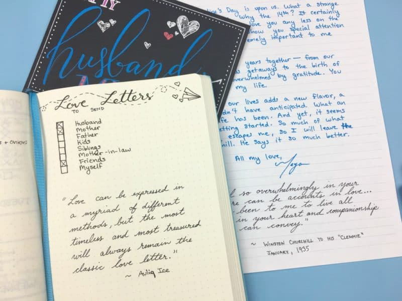 Love letters aren't just for Valentine's Day! Send good vibes all year with handwritten letters.| pageflutter.com