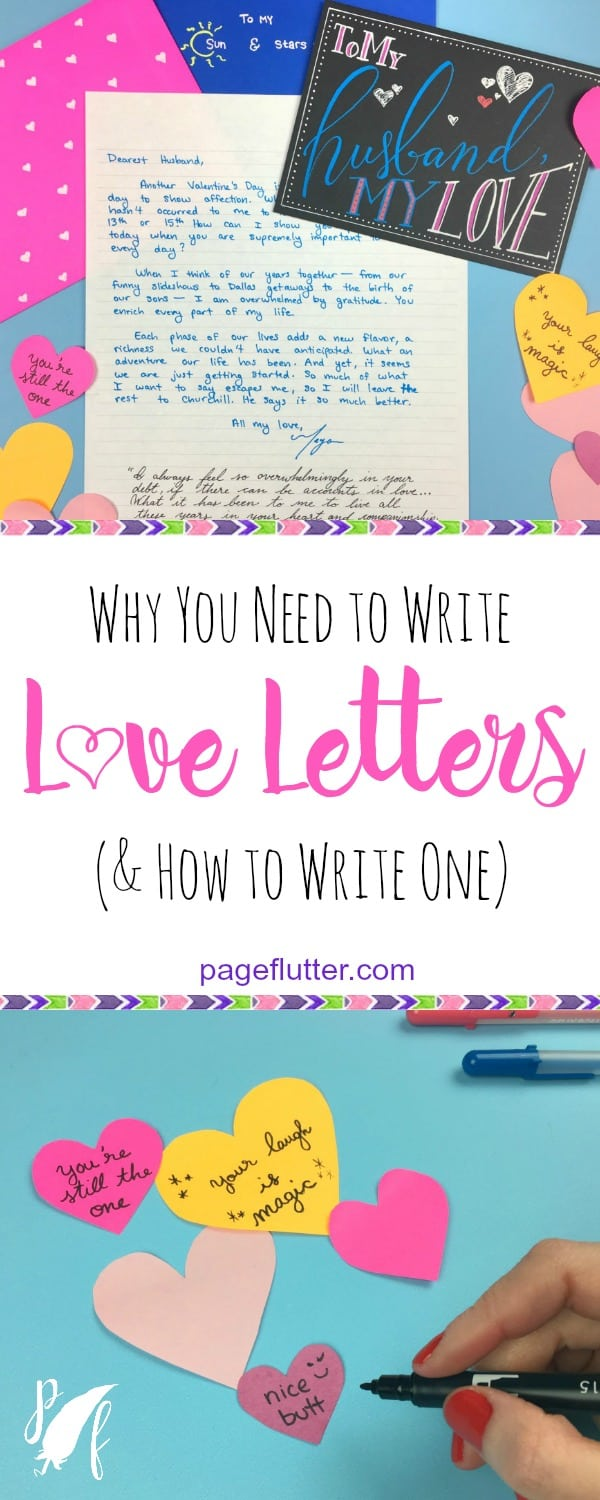 Love Letters Arent Just For Valentines Day Send Good Vibes All Year With