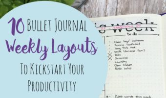 10 Weekly Bullet Journal Layouts to Kickstart Your Productivity