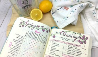 My Bullet Journal + Spring Cleaning: How I Finally Tackled It All