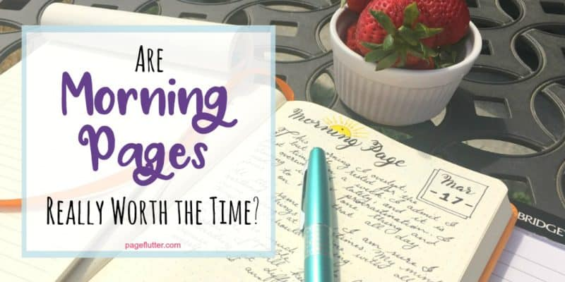 Writing Morning Pages in your Bullet Journal is said to boost productivity and creativity. Here's how...
