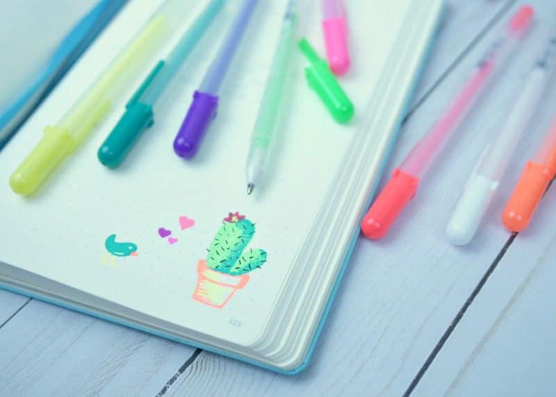 My favorite bullet journal supplies |pageflutter.com