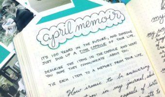 Monthly Memoir Prompts: Unlock Your Past Through Journaling