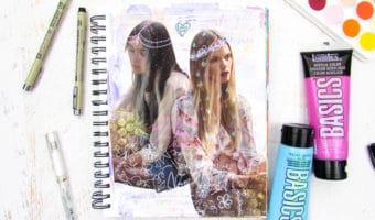 The Beginner's Toolkit for Art Journaling