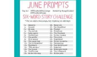 June Challenge Prompts: 6-Word Story Challenge (2017) #PFSixWordChallenge