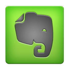 Evernote App. These apps won't upset your analog living.
