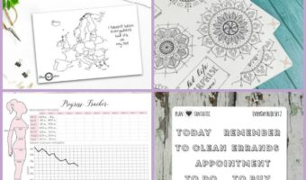 10+ Spiffy Planner Printables to Beautify Your Bullet Journal