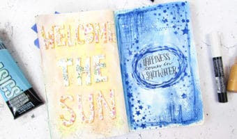 Summer Art Journaling Prompts to Capture Summer Sweetness