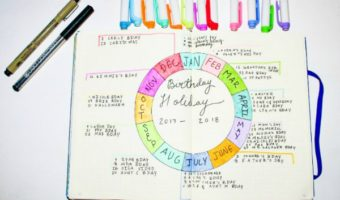 The Birthday Holiday Wheel to Finally Wrangle Important Dates **VIDEO**