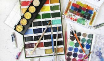 Everything You Ever Wanted to Know About Art Journaling Supplies + Free Prompts