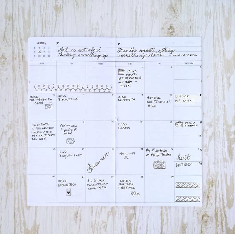 A Traveler's Notebook is a flexible and timeless way to track events and memories.