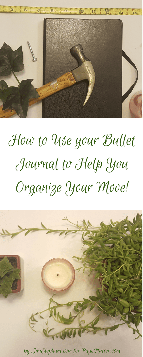 The best lists to organize your move with a planner or Bullet Journal + overcome moving mayhem.