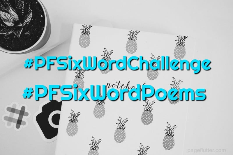Take the September six-word story challenge. Great for hand lettering practice and creative journaling.