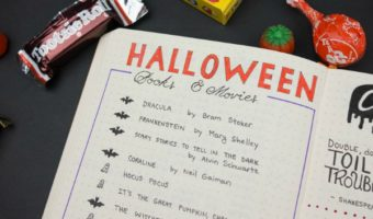 Spooky Lists for Your Halloween Journal Pages