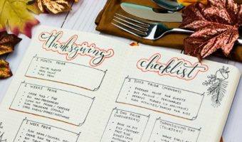 Gratitude Strategies for a Stress-Free Thanksgiving (FREE Checklist)