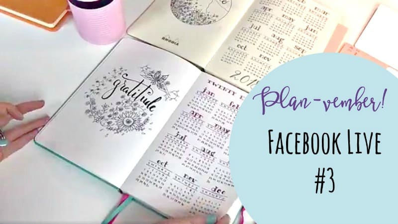 Come journal with me as I set up my 2018 planning pages!