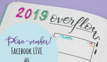 Planvember Day 6   SUPER Long-Term 2019 Overflow Page