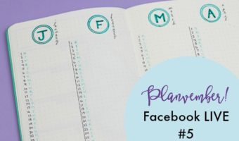 Planvember Day 5 | Long-Term Planning Pages (Facebook LIVE Replay)