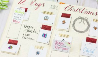 Holiday Journaling: DIY Advent Calendar and Memory Keeper
