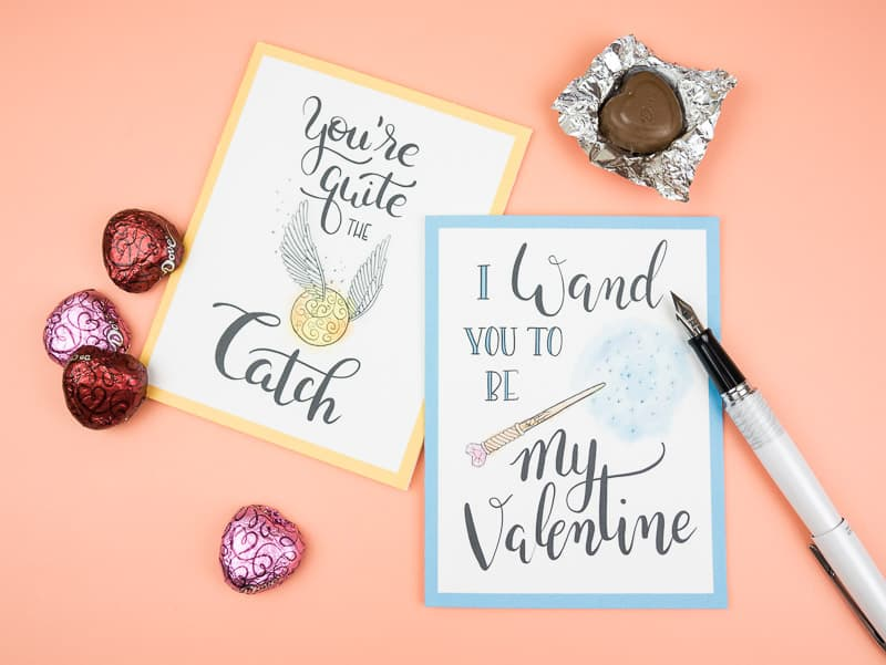 Printable Harry Potter Valentines Are Perfect Happy Mail For Your  #incowrimo Pen Pals, Potterheads