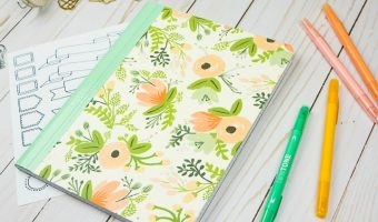 How to Turn a Composition Notebook into a Stylish DIY Journal