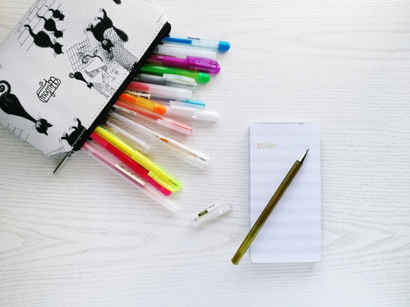 Notebooks, markers, stickers...Spring Cleaning Your Journaling Supplies to become a productivity powerhouse!