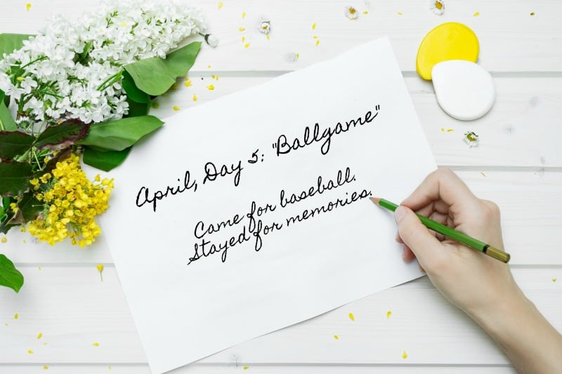 Year to a Better You April Prompts! Get your 6-Word Story challenge pages ready in your journal   pageflutter.com