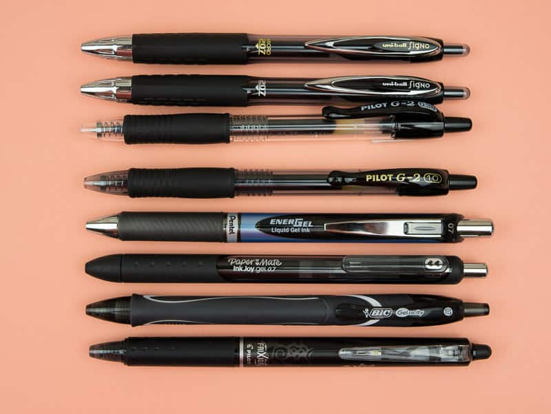 8 Mighty Gel Pens To Boost Your Bullet Journaling Page Flutter