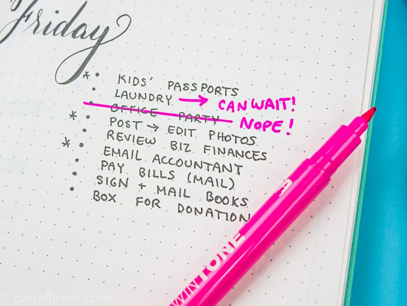 No time for planning? Put your Bullet Journal to work toward your goals with these time-management and productivity strategies.