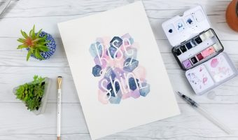 Easy Masking Fluid Watercolor Art Tutorial