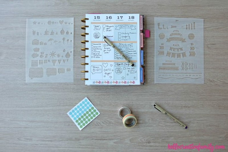10 planner-friendly Circuit projects for stationery lovers | Original post at happygoluckyblog.com