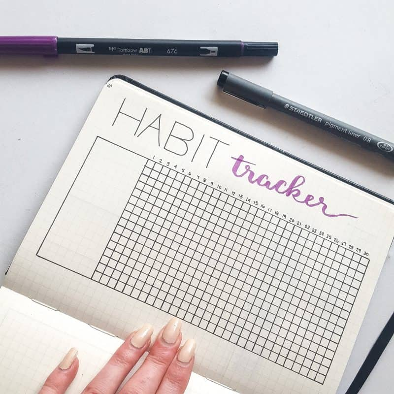 30+ Super Trackers For Your Planner: Daily, Monthly, Yearly | Basic habit tracker | Jihi Elephant for pageflutter.com