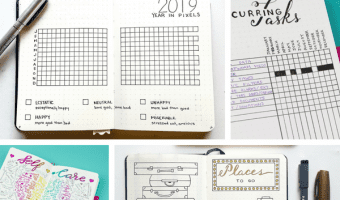 30+ Super Trackers For Your Planner:Daily, Monthly, Yearly