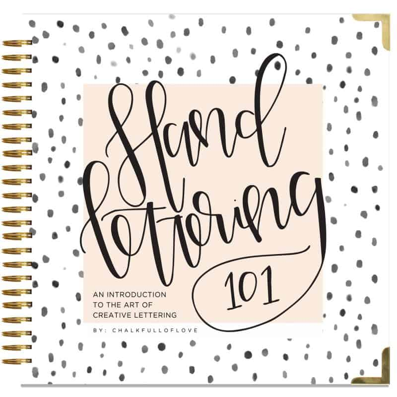 5 Must-Have Hand Lettering Books for Beginners | Jihielephant for pageflutter.com